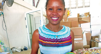 Magalie Dresse is helping Haiti move beyond handouts