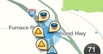When does a traffic app become dangerous? Waze sparks police outcry