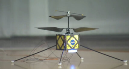 Tiny helicopter drone could be the future of Mars exploration