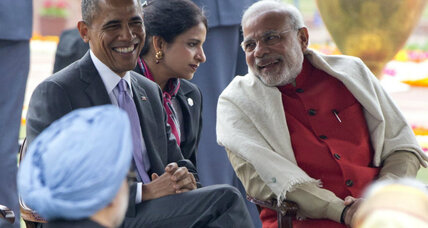 Obama's chewing gum habit: A diplomatic faux pas in India? (+video)