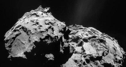 What is comet dust made of? Rosetta finds out.