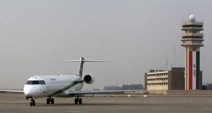 Passenger plane shot in Baghdad, airlines cancel flights