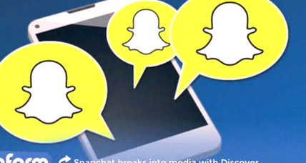 Why is Snapchat moving into the news business?