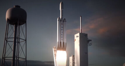 Spectacular SpaceX animation shows Falcon Heavy rocket