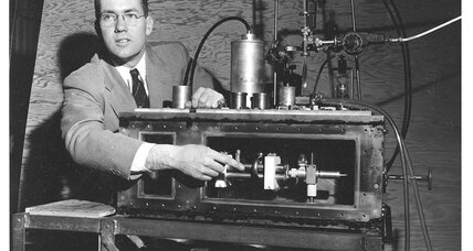 Laser pioneer Charles H. Townes sought to fuse science with religion