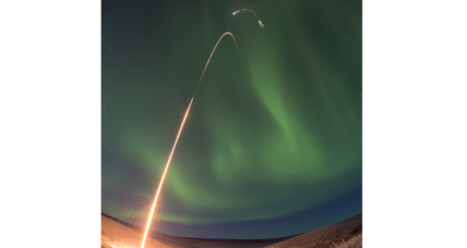 Why did NASA send a probe into the Northern Lights?