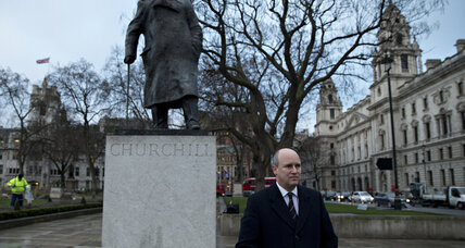 From the Monitor archives: Britain bids Winston Churchill farewell