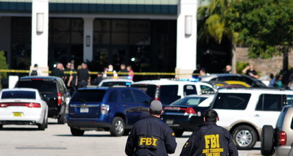 Florida shopping mall shooting: Another debate over guns and safety? (+video)