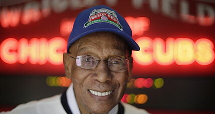 Ernie Banks a.k.a. Mr. Cub because of his enduring optimism (+video)