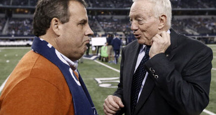 His Dallas Cowboys won, but what did Chris Christie lose?