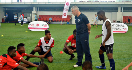Soccer program heads youths away from trouble
