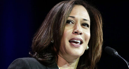 California Attorney General Kamala Harris announces Senate bid: First of many?