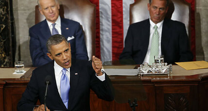 Obama previews State of Union with 'comeback' address: Can Americans take heart? (+video)