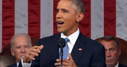 What midterms? Obama treats State of the Union as a victory lap. (+video)
