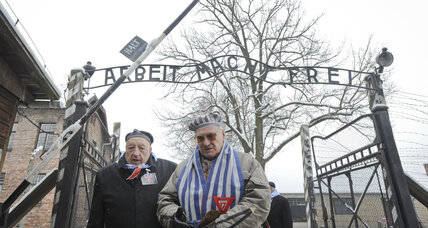 Rome's Jewish leader, others trigger alarm at Auschwitz