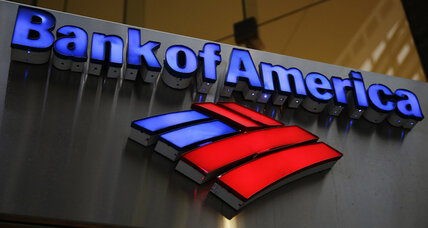 Bank of America sees profits fall by double digits