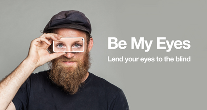 'Be My Eyes' app lets you help the visually impaired see