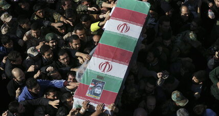 Iran buries general 'martyred' in Syria and vows Israel will pay
