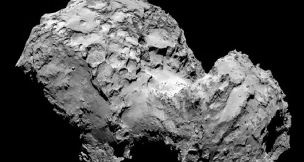 Rosetta's up-close views of comet: stunning, but puzzling (+video)
