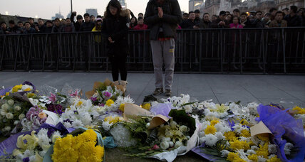 At least 35 killed in Shanghai New Year's Eve stampede