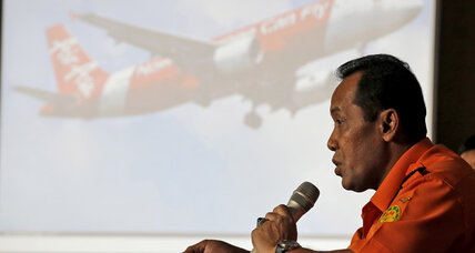 AirAsia aircraft tail discovered in Java Sea