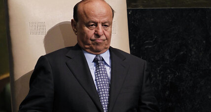 Yemeni president prepared to deal with Houthi rebels