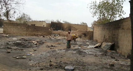 Boko Haram kills hundreds attacking Nigerian town, Amnesty International says