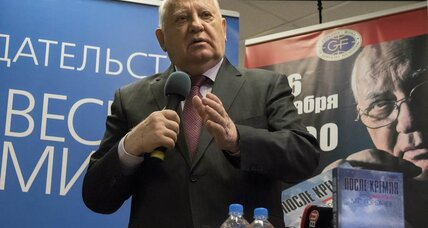 Gorbachev: Ukraine could explode into 'hot war' between Russia and the West