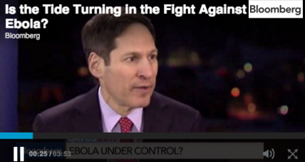 Experts agree, the tide is turning in fight against Ebola