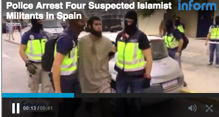 Spanish police arrest four in alleged terror plot
