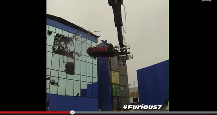 'Furious 7' behind-the-scenes footage released; Super Bowl spot rumored