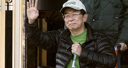 Taiwan ex-President Chen Shui-bian out of prison. Why?