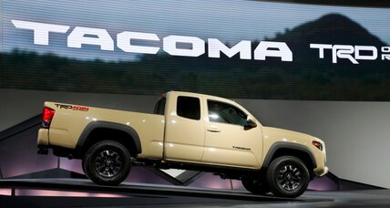 Toyota reworks Tacoma in face of GM competition