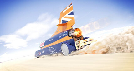 Supersonic, rocket-powered car could break land speed record
