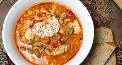 Chicken paprika soup
