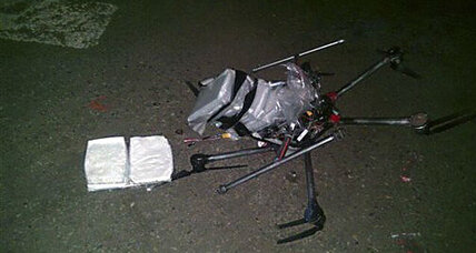 Drone carrying meth crashes in Mexican supermarket parking lot