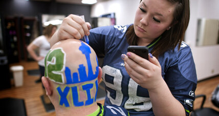 Super Bowl fans: Behind the face paint and feathers to possible stardom