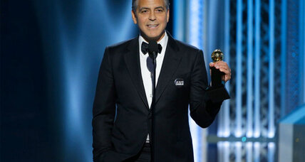 Golden Globes: George Clooney discusses the awards and other backstage stories