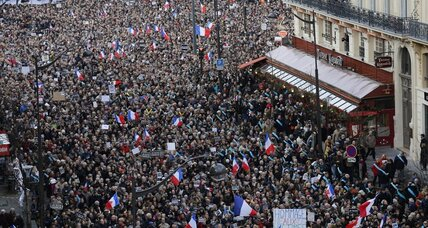 Millions rally across France in condemnation of terror attacks (+video)