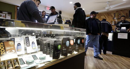 Marijuana goes mainstream, but not yet welcome on Main Street (+video)
