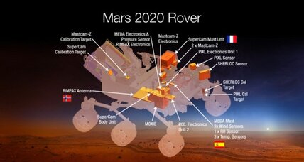 Life on Mars? NASA's next rover aims to find out.