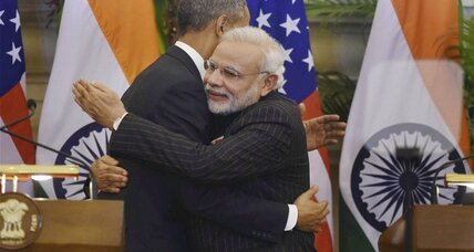 Early in Obama's India visit, a nuclear power breakthrough