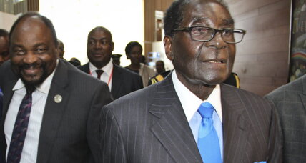 Mugabe named new Africa Union chair