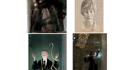 Here's a preview of the upcoming illustrated version of 'Harry Potter and the Sorcerer's Stone'