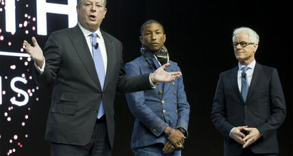 Pharrell Williams, Al Gore team up for 'Live Earth' concert