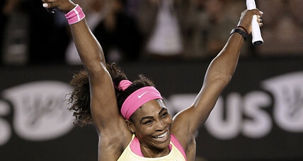 Serena Williams takes Australian Open victory, more serenely (+video)