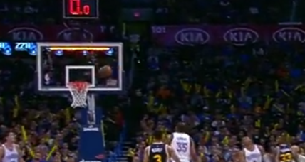 Watch Trevor Booker make the NBA 'Shot of the Year'