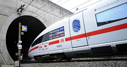 Fire shuts down English Channel tunnel Saturday