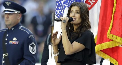 Idina Menzel: Are the best singers best for the national anthem?