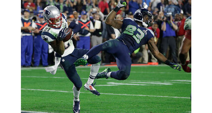 Super Bowl XLIX: Beyond joy and heartache, a rollicking game of football (+video)
